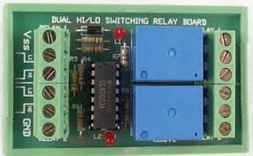 K156 Dual Hi Lo Switched Relay Board