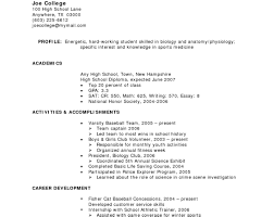 Resume For Part Time Job resume summary statement examples