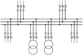 switchgear connection diagram switchgear image chapter 16 switchgear busbar protection engineering360 on switchgear connection diagram