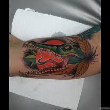 татуировка крокодил значение эскизы фото и видео Infotattoo