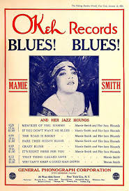 perfect for roquefort cheese: mamie smith and her jazz hounds