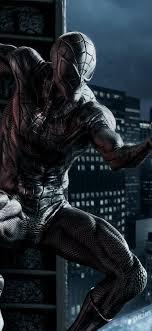 Black Spider Man Hd Wallpaper 4K ...