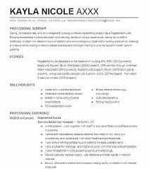Resume Pediatric Nurse Objective For Nursing Resume Blaisewashere Com