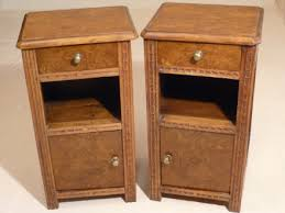 SOLD --- ANTIQUE - PAIR OF FRENCH BEDSIDE CABINETS --- SOLD