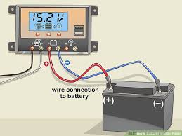 how to build a solar panel (with pictures) wikihow how to install solar panel system pdf at Solar Panel Box Wiring