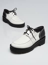 3 1 Phillip Lim Size Chart 3 1 Phillip Lim White Black Leather Brogue Flats Size 6 5 37