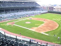 Wrigley Field Seat Map Field Seating Map Cubs At Field
