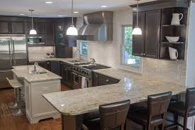 top light color granite countertops pictures kitchens islands cream beige cabinets brown tall ceiling kitchen ideas white cabinet door handles black glass