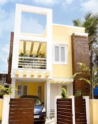 1000 square feet 2 bedroom contemporary home design at 2 cent plot