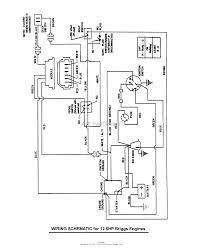 briggs and stratton wiring diagram 12 5 hp briggs snapper 3317524bve 7800787 33 17 5 hp rear engine rider series on briggs and stratton wiring