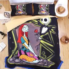 jack skellington bed sets the nightmare before sheet set printed bedding jack and sally bedding jack skellington bed set twin