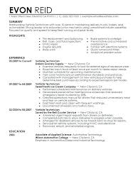 Small Engine Mechanic Sample Resume Amazing Diesel Mechanic Resume Examples April Onthemarch Co Template