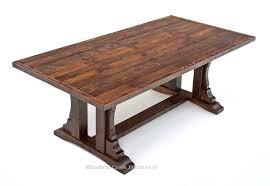 oak dining table. Repurposed Oak Dining Table