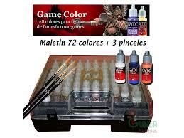 Vallejo Acrylics 72 172 Vallejo Game Color Suitcase 72 Colors