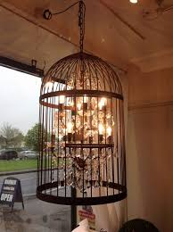 birdcage pendant light chandelier vintage turquoise copper led lights flush mount crystal ceiling large drum shade