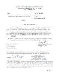 Case 18-33678-sgj11 Doc 270 Filed 01/08 ...