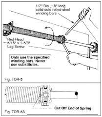 how to replace garage door springPerfect How To Install A Garage Door Spring Installing And