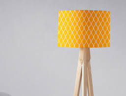 Yellow Lamp Shade Yellow Home Decor Lampshade Drum Lamp Shade Yellow Nursery Mustard Yellow Home Mustard Lampshade Table Lamp Shade