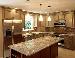 ideas kitchen glass pendant lights