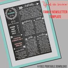 free holiday newsletter template 7 free christmas letter templates and ideas