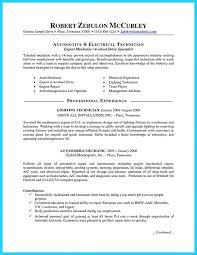 Maintenance Resume Skills Sample Electrical Maintenance Resume ...