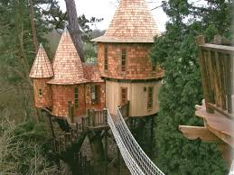 tree houses. Unique Tree Tree Castles In Two Sizes On Houses R