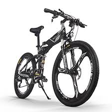 <b>RICH BIT</b> Electric Folding Mountain Bike Mens Bicycle MTB <b>RT860</b> ...