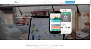 Fluid App Design Fluid Ui Free Web And Mobile App Prototyping Wireframing