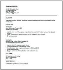 hairstylist resume sample bartender 4 resume examples sample resume resume examples resume