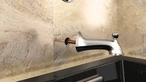 Installation Elliston Bath And Shower Faucet YouTube - Install bathroom faucet