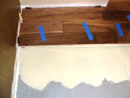 Concrete Wood Floors Installing Hardwood Flooring Over Concrete How Tos Diy