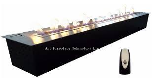 art eethanol fireplace insert model af150 af150 electronic automatic insert alcohol bio