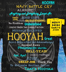 Navy Hooyah Shirts With Anchor For Navy Family Friendsnavy