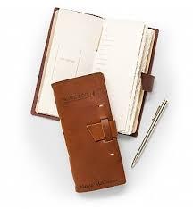 personalized keepsake gifts embossed leather wine log