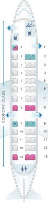 Aa Seating Chart Seat Map American Airlines Embraer Erj 135 Seatmaestro