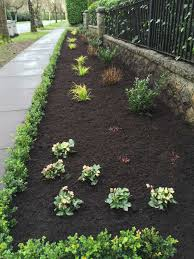 garden bark. Bark Mulch And Boxwood Hedge Installation In Vancouver Garden Y