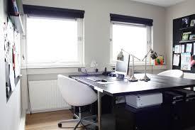 home office two desks. Two Sided Desk Home Office Eclectic With Built In Loft Style Amazing 16 | Lofihistyle.com Art Desk. Clock. Antique. Desks C