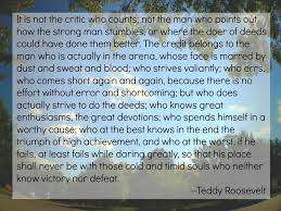 Daring Greatly Quote Unique Daring Greatly Quotation From Teddy Roosevelt Heard On Dr Brene