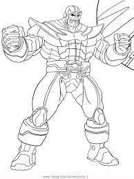 Disegno Thanos Misti Da Colorare Fit Slim