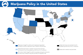states that legalized weed list