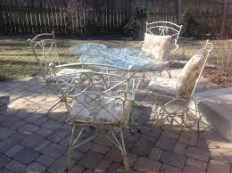 wrought iron wicker outdoor furniture white. OriginalViews: Wrought Iron Wicker Outdoor Furniture White