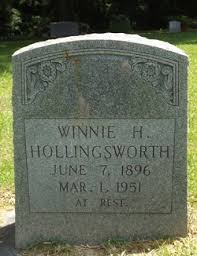 Winnie Hairr Hollingsworth (1896-1951) - Find A Grave Memorial