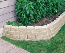 garden edging stone. Ideal For Decorative Tree Rings, Edging, Borders And Garden Planters Up To A Foot Tall (300mm). Edging Stone