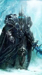wallpaper 640x1136 world of warcraft lich king sword