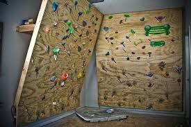 building a rock climbing wall unusual how to build a home rock climbing wall n diy
