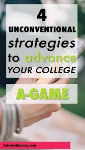 best time management for college and grad students images on  4 unconventional strategies to advance your college a game