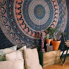 amazon wall tapestry hanging mandala tapestries bohemian beach picnic blanket hippie decorative psychedelic dorm decor 92 x 82 inch queen  on tapestry art designs wall hangings with amazon wall tapestry hanging mandala tapestries bohemian