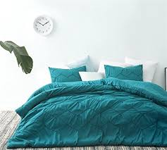 teal queen comforter. BYB Textured Waves Queen Comforter - Supersoft Ocean Depths Teal B071W9X2KC