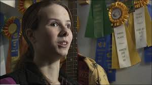 Blind girl wins award in state 4-H horse-riding competition »Play Video Ali Steenis is seen with her wall of ribbons won in dressage competitions. - 121124_blind_4h_girl_660