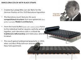 van der rohe furniture. Design Mies Van Der Rohe 1929 Barcelona Couch; 21. Rohe Furniture